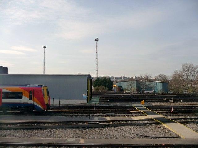 London : Wimbledon - Wimbledon Traincare Depot