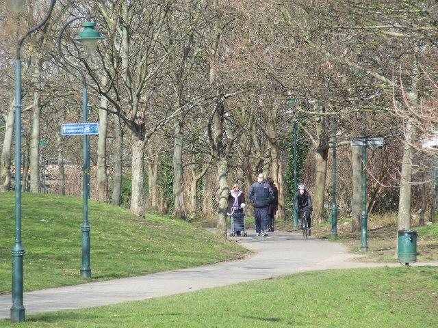 Surrey Canal path