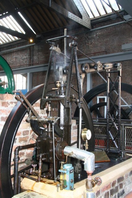 Museum of Science & Industry, grasshopper engine