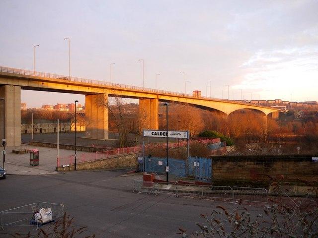 Evening light on Redheugh Bridge