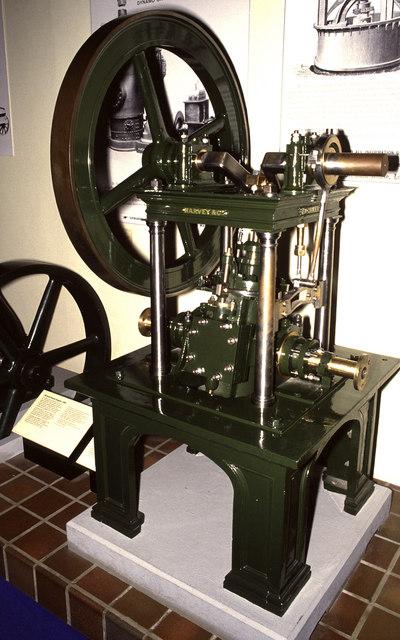 Science Museum, oscillating steam engine