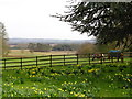 SP8922 : A view over the valley towards Ledburn, Bucks by nick macneill