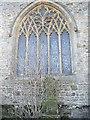 NZ1114 : East window, St Mary's Wycliffe by Stanley Howe