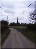 TM3569 : Bruisyard Road, Peasenhall by Geographer