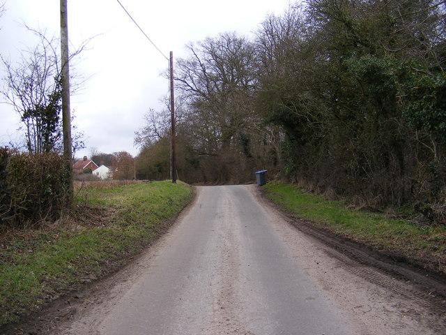 Bruisyard Road, Peasenhall