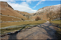 SD9163 : Footpath to Gordale Scar by Peter Church