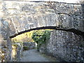 NZ1114 : Arch over path to St Mary's Wycliffe by Stanley Howe