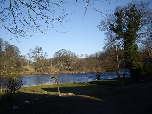 Downstream River Tees
