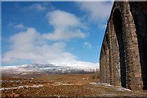SD7579 : Alongside Ribblehead Viaduct by Peter Church