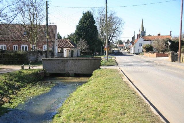Digby Village near Vicarage Close