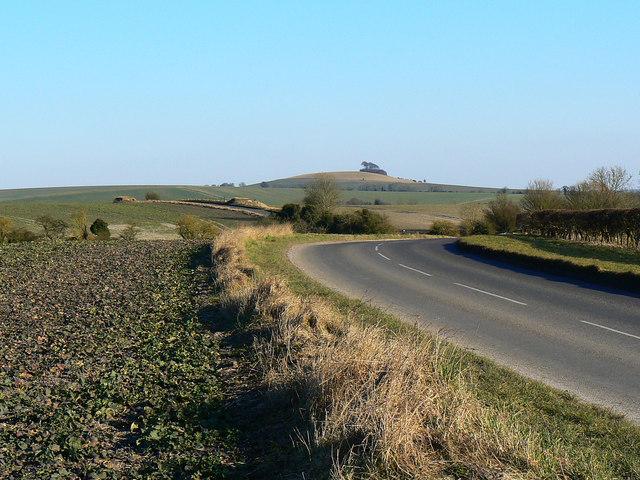 The road to Alton Barnes