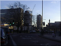 TQ3179 : Elephant and Castle roundabout by David Howard