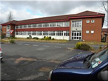 H4573 : HQ, Lisanelly Barracks, Omagh by Kenneth  Allen