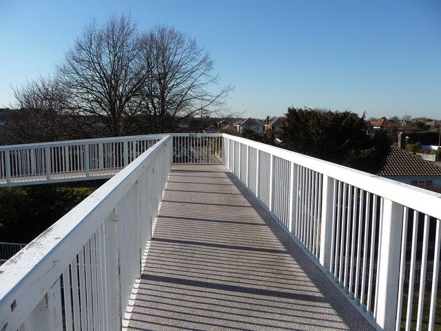 Bournemouth : Boundary Road Footbridge