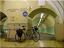 NZ3266 : Tyne pedestrian and cycle tunnel by Malc McDonald