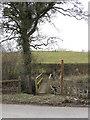 SO5770 : Footbridge Across Greet Brook by Peter Whatley