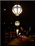TQ2882 : Lights, Marylebone Road by Robin Sones