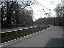SP1196 : The line south to Birmingham by Row17