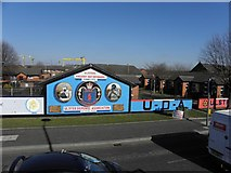 J3574 : Murals, East Belfast (2) by Kenneth  Allen
