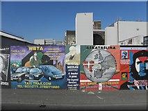 J3274 : Murals, West Belfast (2) by Kenneth  Allen