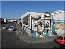 J3274 : Murals, West Belfast (8) by Kenneth  Allen