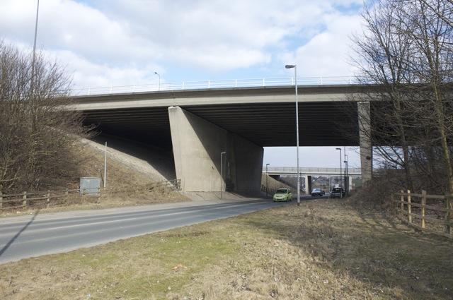 Shillinghill Bridge M62/A645