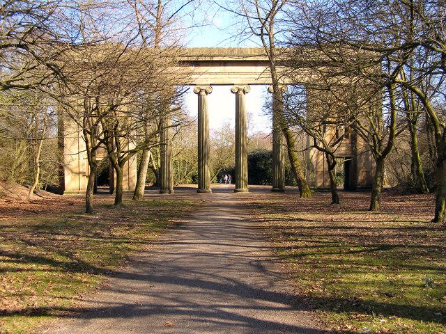 Heaton Park - Town Hall Colonnade