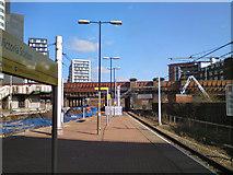 SJ8499 : Victoria Station Metrolink by David Dixon