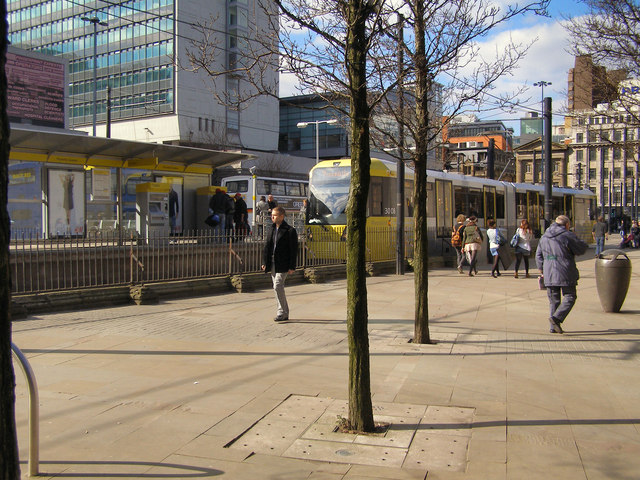 Piccadilly Gardens Tram Station