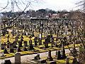 SJ7891 : Sale Brooklands Cemetery by David Dixon
