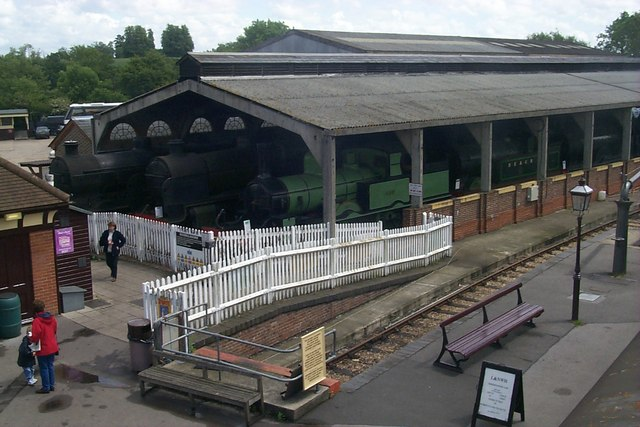 Sheffield Park Station, Bluebell Railway - Engine Shed