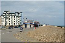 SZ9398 : Seafront at Bognor Regis by Peter Trimming