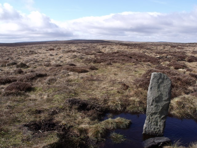 Boundary Stone, Oxenhope Stoop Hill