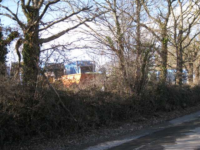 Vehicle park, Heathfield landfill site