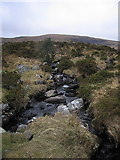 SH6420 : Stream running off the Diffwys ridge by Rudi Winter