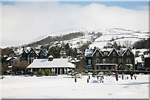 NY3704 : White Platts Recreation Ground, Ambleside by Rob Noble