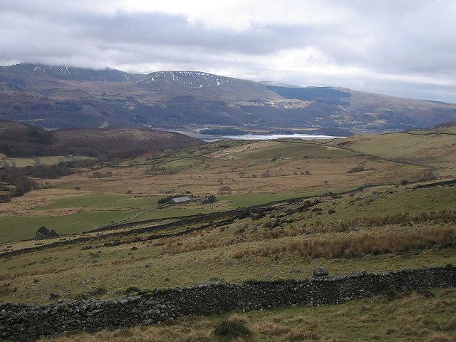 Golodd farm above the Mawddach estuary