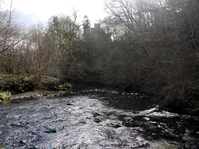 Hart Burn, gorge below the village