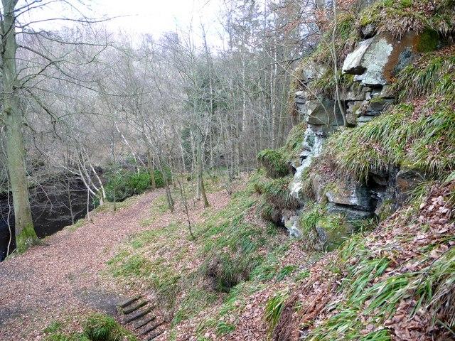 Location of Hartburn Grotto