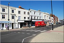 SU5806 : Zebra crossing in the High Street by Barry Shimmon