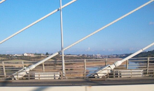 The Boyne River below the Boyne Bridge