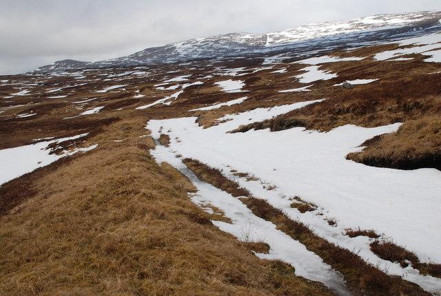 Moorland, Aulich Burn, Loch Rannoch