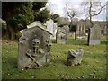 NZ0986 : Graveyard, St Andrew's Church, Hartburn by Andrew Curtis