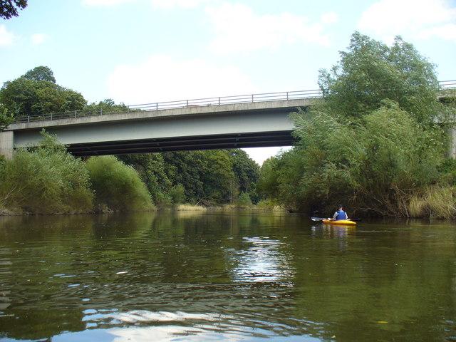 A5 Road Bridge over the River Severn