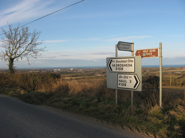 Signpost at Tullog, Co. Meath