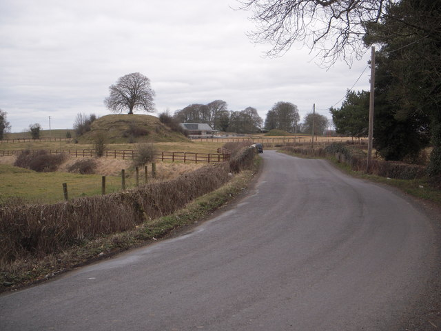 Norman era Motte, Clonard, Co Meath