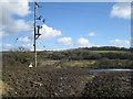 SX8677 : A wet field above Gappah by Robin Stott