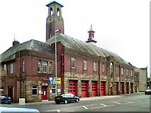SD8912 : Rochdale Fire Station by David Dixon