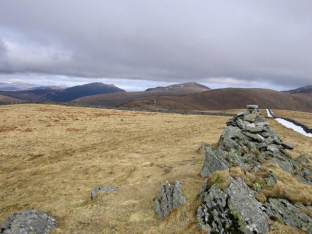 Diffwys ridge and the Rhinogydd