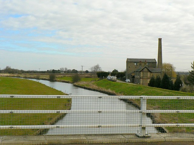 The Great Ouse from Stow Bridge, Stretham